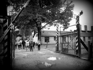 Vstupní brána Auschwitz I