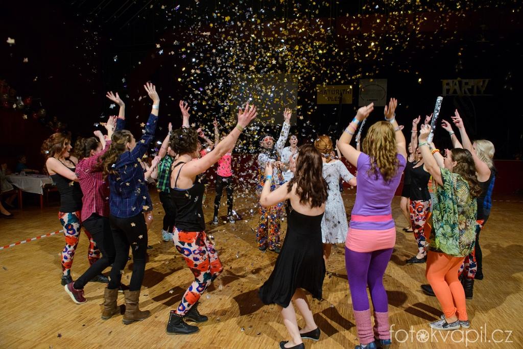 Ples Liberecké Zdrávky 2016 ve stylu PARTY