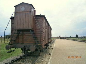 Železniční rampa, Auschwitz II - Birkenau (Březinka)