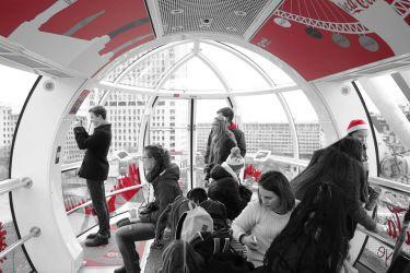 Kocháme se pohledem z London Eye