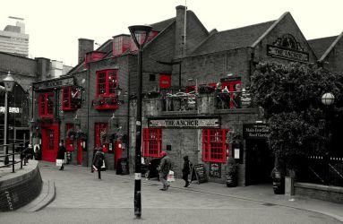 Uličky Londýna