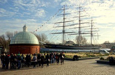 Cutty Sark - nejrychlejší plachetnice své doby, Greenwich