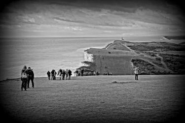 Nádherné pobřeží Anglie