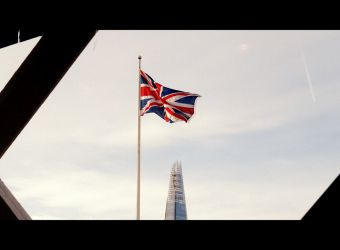 British Jack, foto z muzea v Tower Bridge