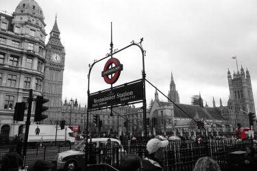 Westminster, vládní čtvrť v Londýně