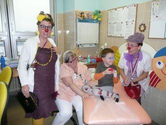 Charitativní sbírka naší školy na Zdravotního klauna