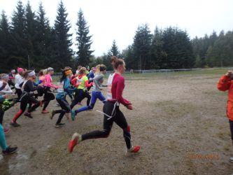 Krajské finále středních škol v přespolním běhu 2016