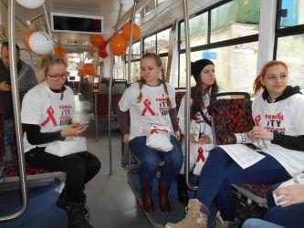Projekt preventivních tramvají a trolejbusů proti AIDS 2017