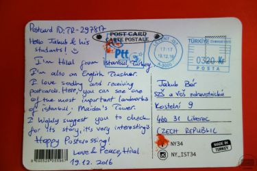 Komunikujeme anglicky s celým světem díky Postcrossingu