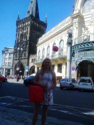 Začátek prohlídky Prahy u Prašné brány