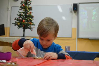 Vánoční besídka pro děti zaměstnanců 2017