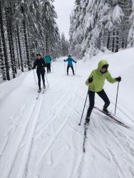 Zdrávka na běžkách 2018, Lyžařský kurz