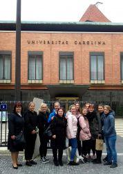 Exkurze do Prahy na Gynekologicko-porodnickou kliniku VFN a 1. LF Univerzity Karlovy U Apolináře